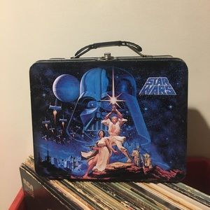 Star wars 2013 lunchbox metal tin steel